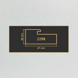 2290 алюминий рамочный профиль МДФ 2800