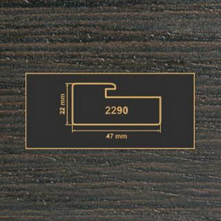 2290 венге рамочный профиль МДФ 2800