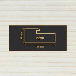 2290 вудлайн крем рамочный профиль МДФ 2800