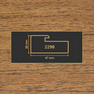 2290 орех лесной профиль МДФ 2800