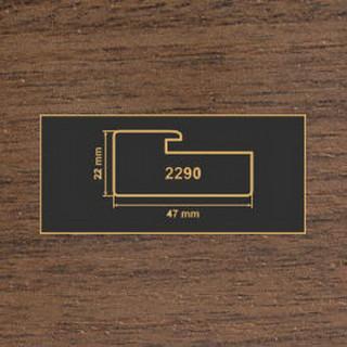 2290 орех темный профиль МДФ 2800