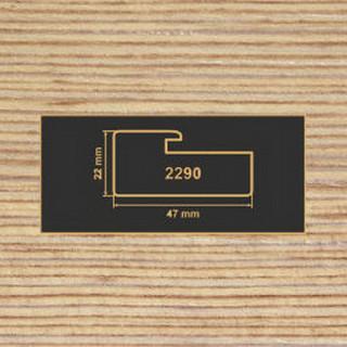 2290 фино-бронза рамочный профиль МДФ 2800