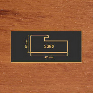 2290 яблоня рамочный профиль МДФ 2800
