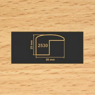 2530 бук накладка угол  МДФ 2800