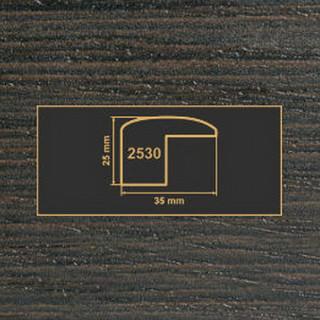 2530 венге накладка угол  МДФ 2800