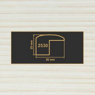 2530 вудлайн крем накладка угол  МДФ 2800