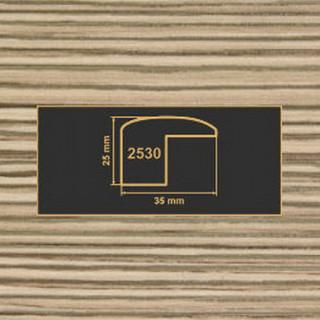 2530 лиственница накладка угол  МДФ 2800