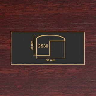 2530 махонь накладка угол МДФ 2800