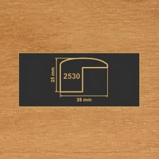 2530 ольха накладка угол  МДФ 2800