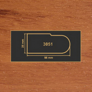 3051 яблоня накладка МДФ 2800