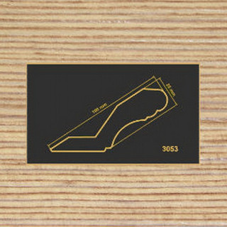 3053 фино-бронза карниз МДФ 2800