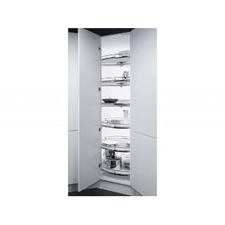 Угловой шкаф Recorner Maxx, 600, 4/4, белый, хром (ТОЛЬКО ПОД ЗАКАЗ)