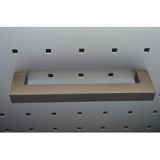 Ручка мебельная DL 36M/320 BRNS/AL IC бронза браш ПОД ЗАКАЗ