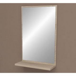 Зеркало с полкой, ДСП, Дуб Сонома