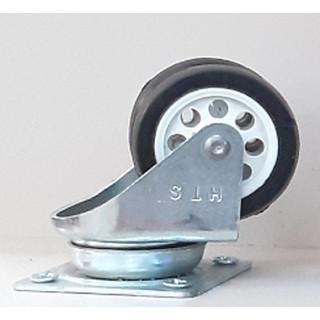 Колесо двойное D-40 h-50 пластик до 30 кг (121) ДО ПОЛНОЙ РАСПРОДАЖИ