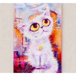 Картина Кот Пушок (200x295) Холст