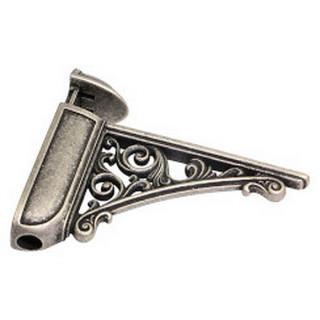 Держатель полки Bosetti Marella 42430Z125 античное серебро ПОД ЗАКАЗ!