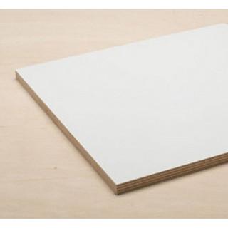 Фанера ФСФ ламинированная белая, толщ. 15 мм, 2500х1250 мм, ЦЕНА УКАЗАНА ЗА ШТ.