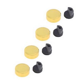 Зеркалодержатель золото 20мм (комплект 4шт) 4-027-001, ЦЕНА УКАЗАНА ЗА КОМПЛЕКТ