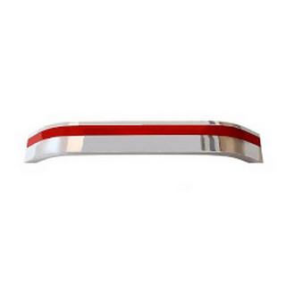 Ручка 160 мм BILAKS IREM STEP  Хром-Красная 3183-065-0160 ПОД ЗАКАЗ