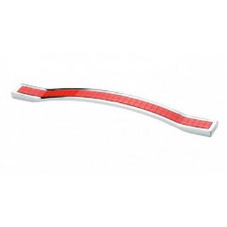 Ручка 160 мм ODESSA Хром-Красная 5233-06/038 ПОД ЗАКАЗ