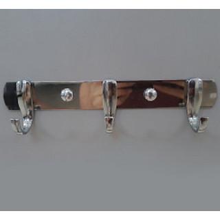 Планка на 3 крючка хром N372 (03-57-001)
