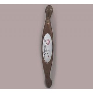 Ручка керамика 128 мм Бронза-Нарцис 5354-08/45 ПОД ЗАКАЗ