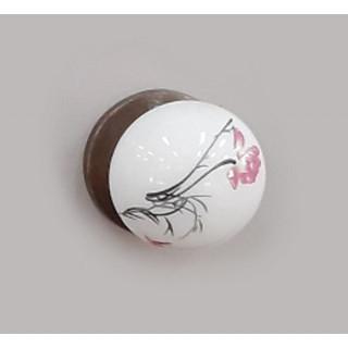 Ручка керамика Бронза-Нарцисс 6073-08/45 ПОД ЗАКАЗ