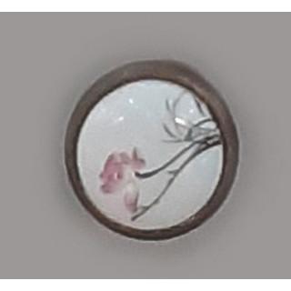 Ручка керамика Бронза-Нарцисс 6072-08/45 ПОД ЗАКАЗ