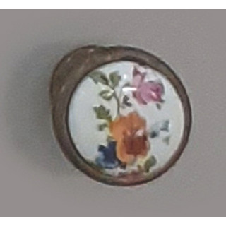 Ручка керамика Бронза-Цветы 6072-08/42 ПОД ЗАКАЗ