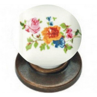 Ручка керамика Бронза-Цветы 6073-08/42 ПОД ЗАКАЗ
