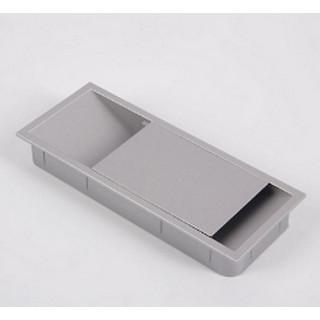 РП Заглушка для провода 150х62 цвет алюминий ПОД ЗАКАЗ