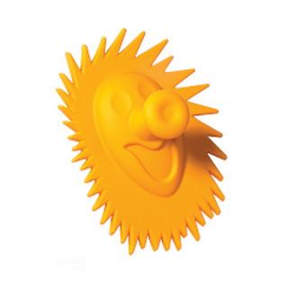 Ручка CEBI 448025 ежик оранжевый ПОД ЗАКАЗ