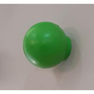 Ручка кнопка пластик салатовый  412.001 ПОД ЗАКАЗ