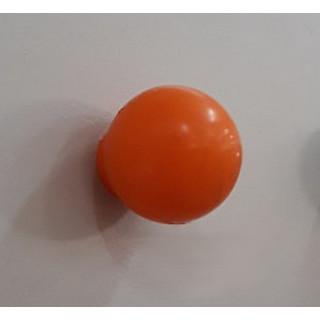 Ручка кнопка пластик оранжевый 412.001 ПОД ЗАКАЗ