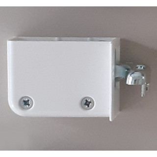 Навеска для шкафов левая белая 48N0510.03 LW