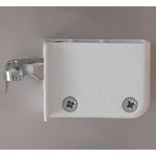 Навеска для шкафов правая белая 48N0510.02 RW
