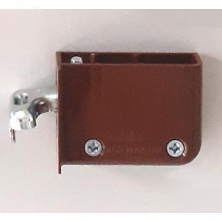 Навеска для шкафов правая коричневая 48N0510.02 RB