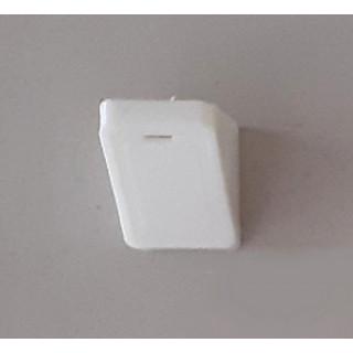 Уголок монтажный одиночный пластиковый белый