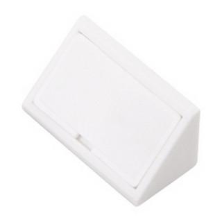 Уголок монтажный пластиковый двойной белый