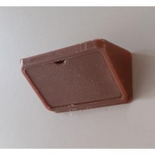 Уголок монтажный пластиковый двойной, цвет Коричневый