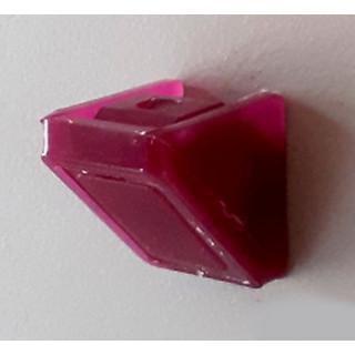Уголок монтажный пластиковый одинарный, цвет Махонь, Акция