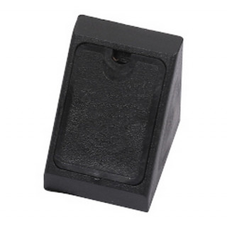 Уголок монтажный пластиковый одинарный, цвет Черный