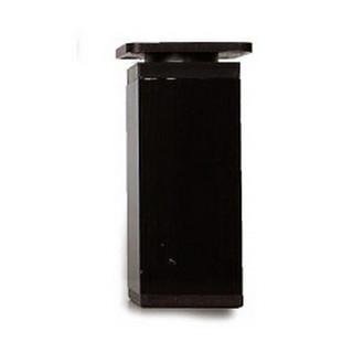 Ножка алюминиевая квадратная 40х40 Н=100, черная