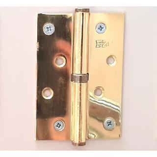 Петля съемная левая, 2 шт 100 мм б/г золото (01-74-003) ПОД ЗАКАЗ