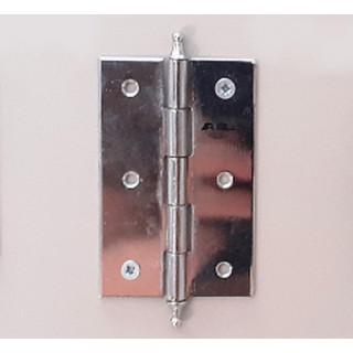 Петля рояльная 75 мм хром л+пр (1-65)