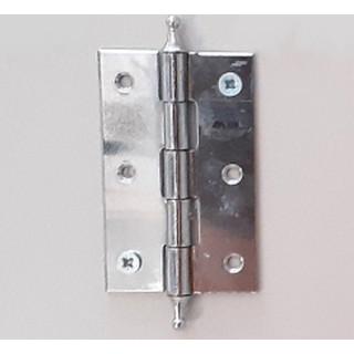 Петля рояльная 65 мм хром л+пр (1-65-005)