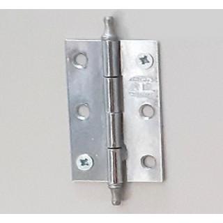 Петля рояльная 50 мм хром/сатин л+пр (01-65-004)