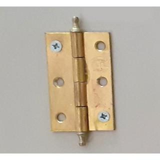 Петля рояльная 50 мм золото л+пр (1-65-001)