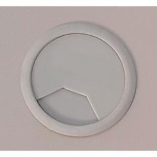 Заглушка компьютерная (проход) для проводов серая в ассортименте